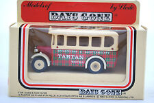 LLEDO DIECAST DENNIS BUS in TARTAN TOURS in Scotland Livery MIB