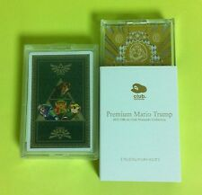 Club Nintendo Premium Mario Trump Playing Cards Legend of Zelda JAPAN NEW