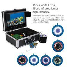 """9"""" 30 LEDs Fischfinder Infrarot 1000TVL Unterwasserkamera Eis Angeln Kamera DHL"""