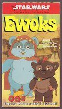 Star Wars Ewoks volume 1 VHS Cries of the Trees/The Tree of Light J2 1990