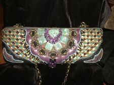 PRISTINE MARY FRANCES RETIRED Hard Shell Embellished w/Beads&Stones
