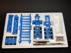1:50 Sword Nelson BLUE 3x3x3 Heavy Haul Trailer Model TWH