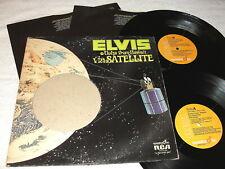 "Elvis Presley ""Aloha From Hawaii"" 1973 Rock,2-LP's, VG, Quad, RCA-Orange Labels"