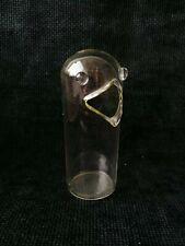 More details for vintage glass bird sugar lump sweet bowl handmade ornament