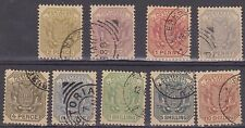 (JS-34) 1895 African republic 9set ½d to 10/- FU