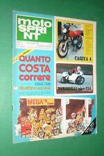 MOTOSPRINT 46/1978 GABOR 75 REGOLARITA'+MOTO BETA 500+SIDECAR VALLELUNGA ZINI