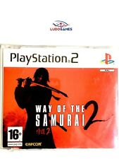 Way of the Samurai 2 Promo EUR PS2 Retro Playstation Videojuego Mint State