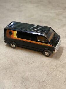 ERTL 1/18 scale Vintage Black Dodge Street Van 1975 1976 1977 1978 Mopar