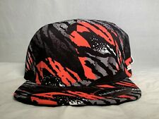 Staple NYC Pigeon x Flexfit Delta Zebra Animal Retro Pack Hat Fitted sz L/XL