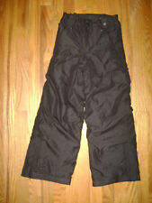 POLAR EDGE BOYS GIRLS SKI SNOW SnowPants Pants Size S 8 BLACK