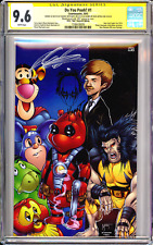 Do You Pooh #1 New Mutants 98 Homage CGC SS 9.6 Sketch by Marat & Signed Liefeld
