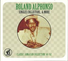 ROLAND ALPHONSO SINGLES COLLECTION & MORE, 2 CD BOX SET CLASSIC JAMAICAN '60-'62