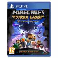 Minecraft:Story Mode PS4-A Telltale Game PRESTINE -1st Class Fast &Free Delivery