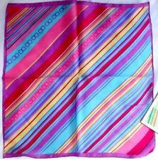 "20"" 100% Silk Scarf Square Women's Bandana Neck Dress Shawl Wraps Satin XF33029"