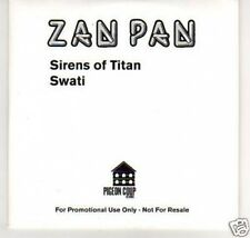 (B29) Zan Pan, Sirens Of Titan - DJ CD