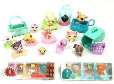 Littlest Pet Shop Lot - Teensies Ocean & Farm, 12 Full Size Figures, Accessories