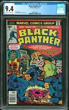 Black Panther 1 - CGC 9.4 (First Ongoing Series) Movie NM