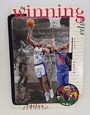 1996-97 UPPER DECK WINNING EDGE #W9 VIN BAKER MILWAUKEE BUCKS BASKETBALL CARD