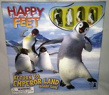 Happy Feet Return to Emperor Land Board Game Childrens Kids Toy 5 and Up