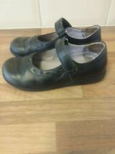 Girls leather school shoes by start rite size 12 G black