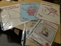 Lot of Creative Keepsakes Sampler Books + 2 Bonus Booklets Georgia Washington DC