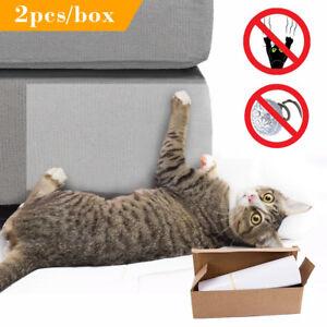 2pcs Pet Cat Anti Scratch Pad Mat Adhesive Furniture Couch Sofa Protector Guard