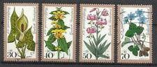 5889- SERIE COMPLETA SELLOS 1978 Nº829/32 FLORES FLORA NATURALEZA GERMANY