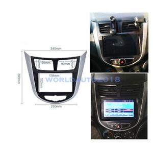 For Hyundai i-25/Accent/Solaris/Verna Car Stereo Fascia Dash Panel Radio Frame
