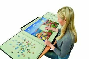 Portable Jigsaw Board Puzzle Storage Carry Safe Case Carrier 1000 Pieces