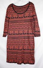Peruvian Connection Pima Cotton Tunic Dress Layering XL Sweater