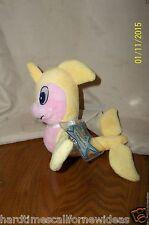 Neopets Yellow Flotsam Series 4 Yellow Pink Plush (2008)