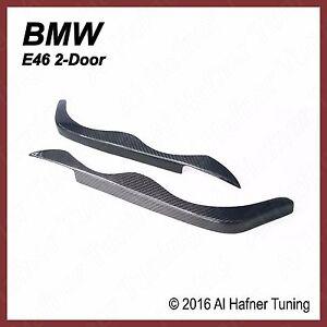 BMW 323CI, 325Ci, 328Ci, M3 2-door e46 Carbon head light trims