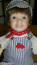 "Doll - ASHTON DRAKE GALLERIES ""ANDY"" By Maryanne Oldenburg"