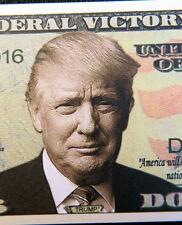 Donald Trump Federal Victory FREE SHIPPING! Million-dollar novelty bill