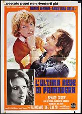 CINEMA-manifesto L'ULTIMA NEVE DI PRIMAVERA fehmiu, belli, horowitz, DEL BALZO