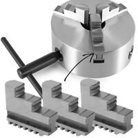 Internal Jaw 20CrMnTi Self Centering Lathe Chuck CNC Machine Accessory