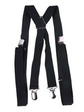 Child's Gangster or Clown Costume Black Suspenders