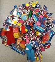 BULK MIXED PET DOG SQUEAKY CHEW ROPE BALL RUBBER FETCH TOYS X 10 DOG TOYS