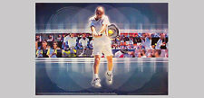 Rare ANDRE AGASSI DECADE OF GLORY Historic NIKE Tennis Commemorative Wall POSTER