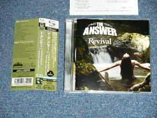 THE ANSWER Japan 2011 NM SHM 2-CD+Obi REVIVAL