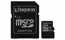 Kingston Canvas Select 16GB 80MB/s microSDHC UHS-I Card