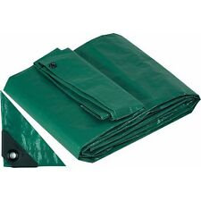 Telo Telone Occhiellato 8x12 mt Antistrappo Impermeabile colore Verde Papillon