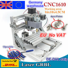【EU】 3 Axis Mini DIY Desktop 1610 GRBL CNC Router Engraver Milling Laser Machine