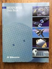 1988 Siliconix Mospower Data Book