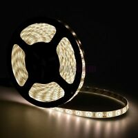 16.4FT/5M Warm White 5630 SMD 300LED Waterproof IP65 Flexible Strip Light 12V60W