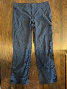 Women's Columbia PFG Performance Fishing Gear Pants - Size 14 - Navy