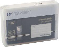 1 Panasonic Mini DV Tape AY-DVM83PQ Professional Quality 83min - UK NEW Genuine