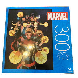 Marvel Female Super Heroes 300 Piece Puzzle! Fast Free Shipping!