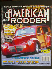 AMERICAN RODDER  Willys Woody  March 2004