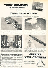 1947 New Orleans Business Vintage Advertisement Print Ad J520